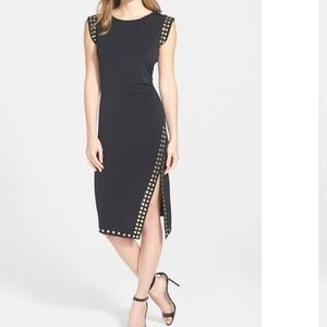 Micheal Kors asymmetrical studded dress